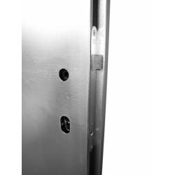 Oplechováné dveře pozink 60 komplet oboustrané